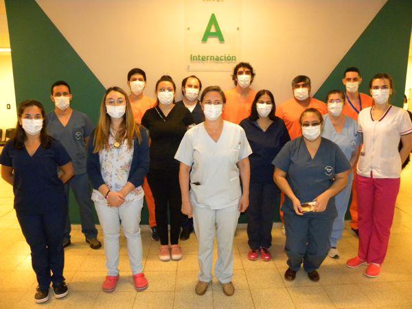 Parque de la Salud: Reconocen el gran compromiso del equipo de salud del Hospital Escuela, en la atención del primer caso de coronavirus