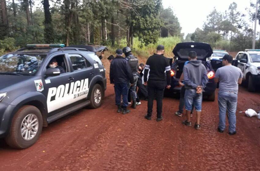 Recapturaron a dos de los evadidos de la comisaría de Puerto Esperanza