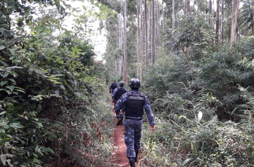 Refuerzan el operativo de búsqueda del evadido de la comisaría de Puerto Esperanza