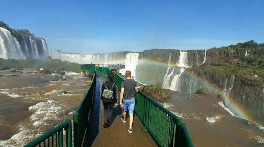 Por el Feriado de este Domingo en Brasil: Las Cataratas brasileñas agotaron las 2800 entradas