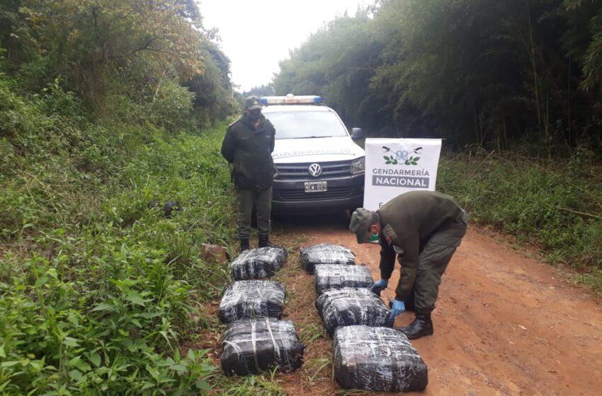 Secuestran 273 kilos de marihuana luego de dos operativos en Misiones
