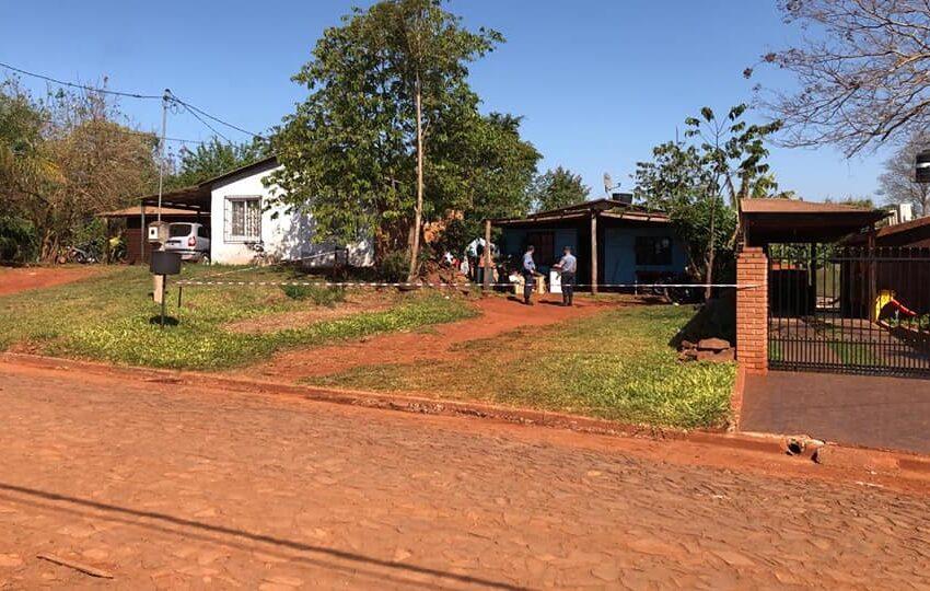 Iguazú: Una mujer asesinada de un disparo. Un Detenido, su hijastro.