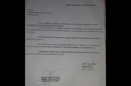 """""""El señor De Sosa renunció a la Presidencia barrial por un cargo municipal"""" expresó Marcela González"""
