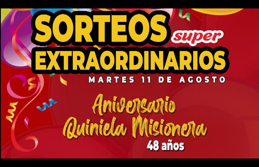 48 años de la Quiniela Misionera, las bolillas siguen girando