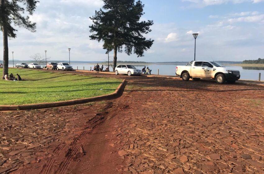 Misioneros aprovecharon el día del niño para pasarlo en el Parque Acuatico Urugua-í