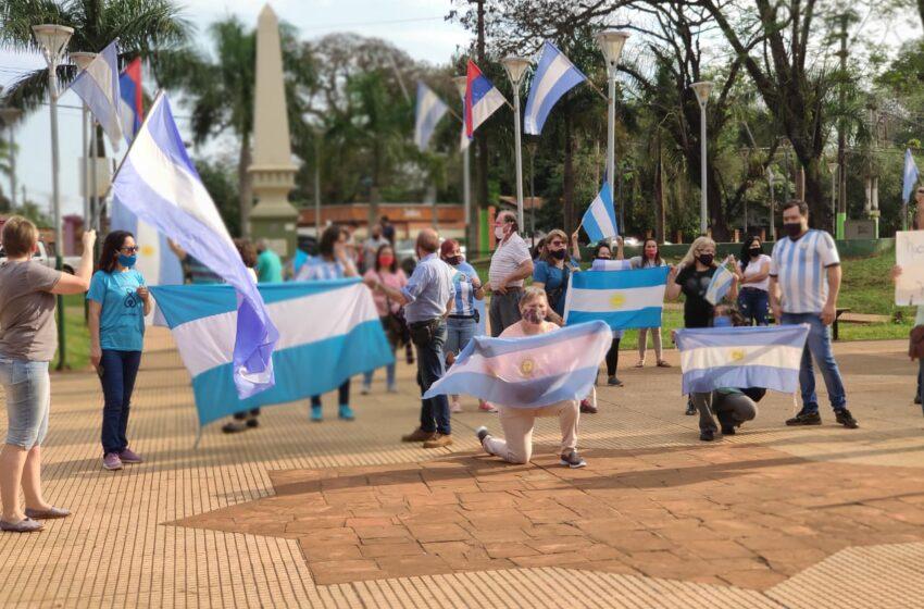 Iguazú se unió a la marcha nacional del #17A