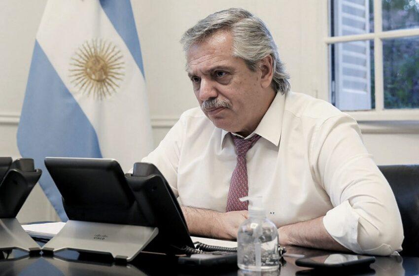Informe Nacional de la imagen del Presidente Alberto Fernández