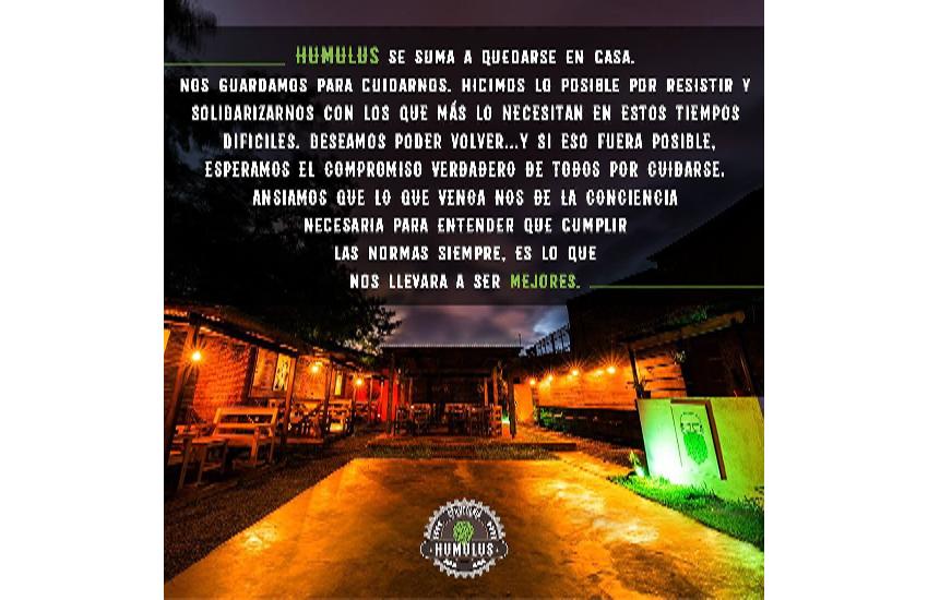 Dos bares de Iguazú decidieron cerrar sus puertas hasta el 21 atentos a la situación de casos de Covid-19 que se presentan en la ciudad