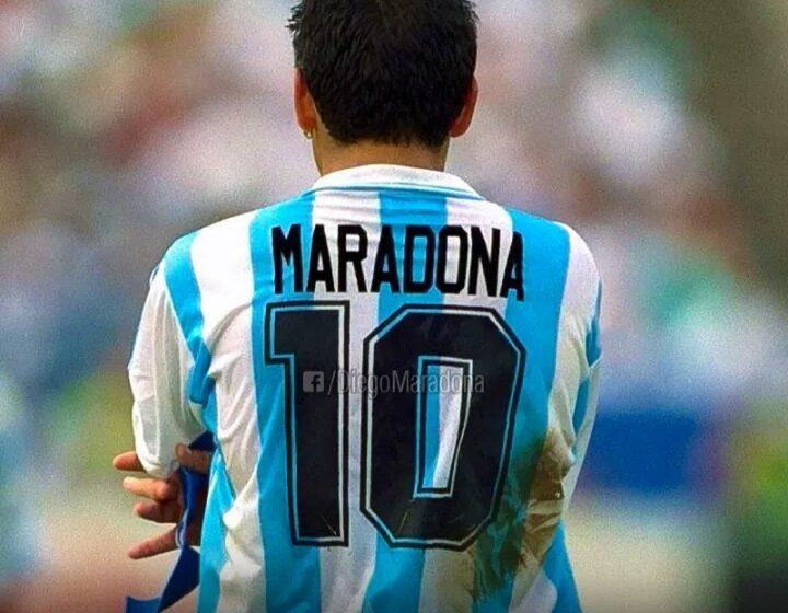 A los 60 años, murió Diego Maradona