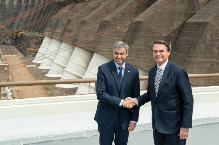 El próximo martes, Bolsonaro y Mario Abdo Benítez se reunirán en Foz