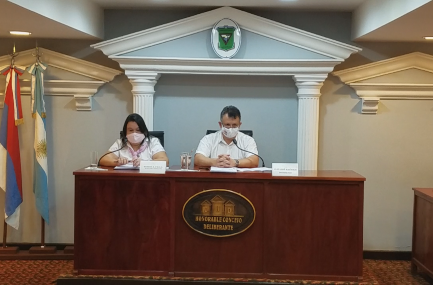 El HCD aprobó ayer el Presupuesto Municipal 2021, el Presupuesto 2021 del Iturem y Venta Directa de Lotes