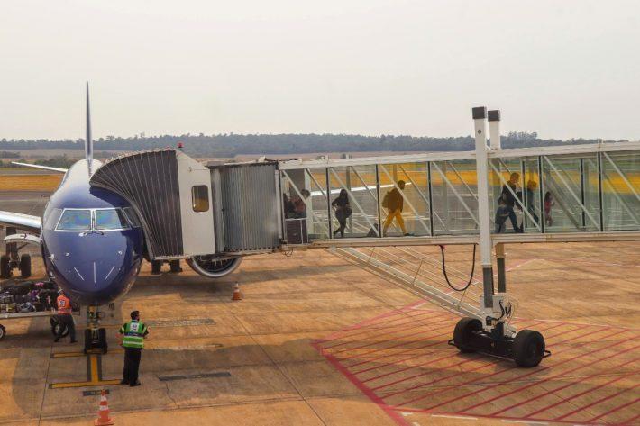 En enero, el aeropuerto de Foz do Iguaçu registró un flujo 24% más alto que diciembre del 2020