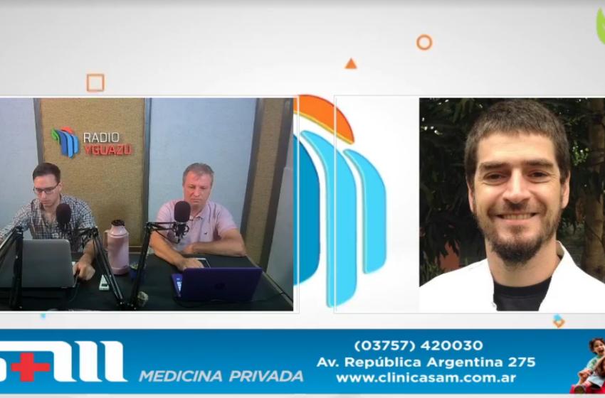 """Covid: """"Hay riesgo de reinfección"""", expresó Esteban Couto, médico infectólogo de Iguazú"""