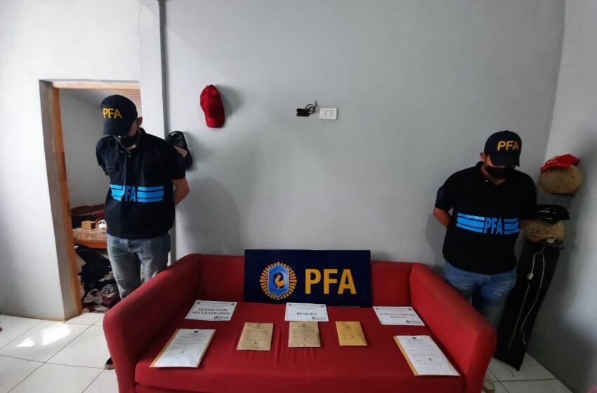 La Policía Federal allanó en Iguazú el domicilio de un acusado de abuso sexual