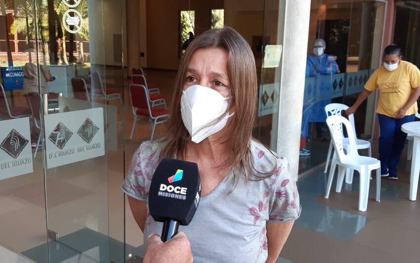 """""""La impresión que me llevo es que los recursos humanos están rindiendo en su máxima capacidad"""" dijo la Ministra de Seguridad de la Nación a Radio Yguazú"""