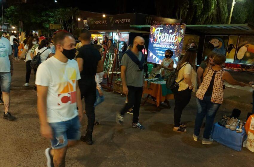 Feriantes y Artesanos de Iguazú, felices de poder recibir a los turistas en esta Semana Santa