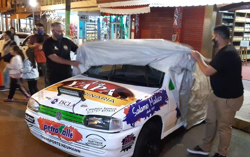 En la noche del miércoles presentaron en Iguazú el auto de la dupla Gómez-Bittancourt