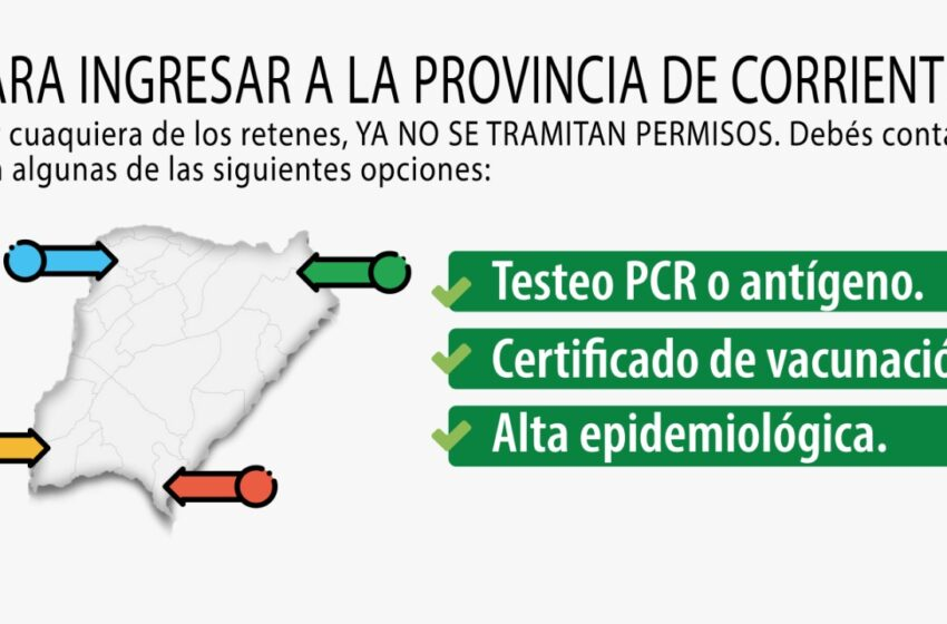 """""""Se está trabajando con declaraciones juradas para aquellos que solo utilicen a Corrientes como paso para llegar a Misiones"""", indicó el Subsecretario Federico Ojeda"""