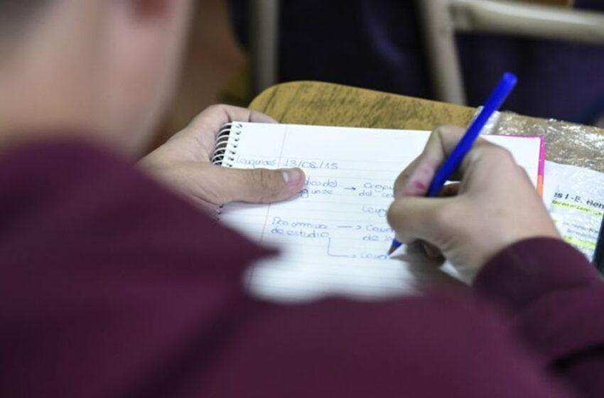 Los secundarios de gestión privada no tendrán mesas de exámenes para previas
