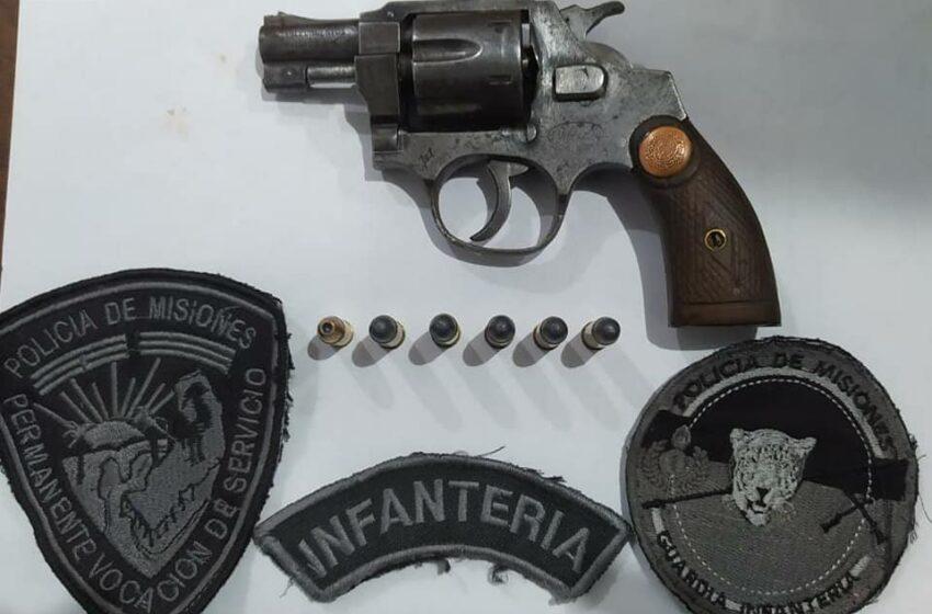 Recuperaron Objetos de un vehículo y secuestraron un arma de fuego en operativos de seguridad