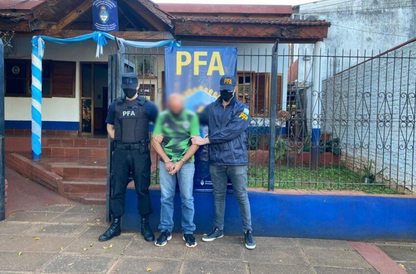 Tras estar 6 años prófugo detuvieron en Iguazú a un acusado de abusar de sus hijas
