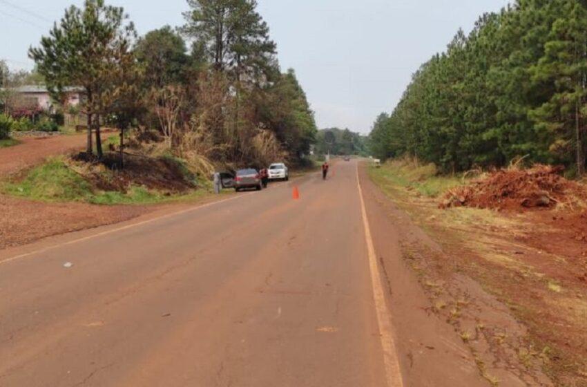 Niño de 6 años murió atropellado al intentar cruzar la ruta 13