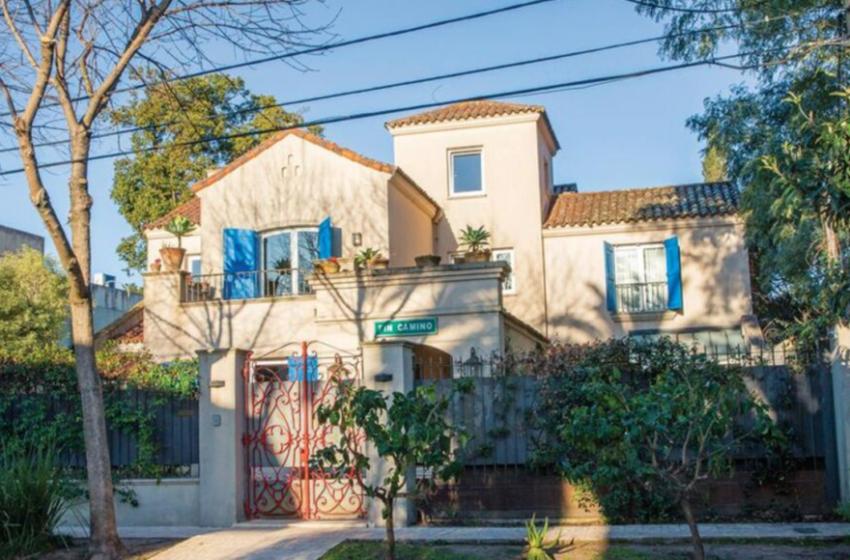 950 mil dólares. Juana Viale vende su casa de San Isidro