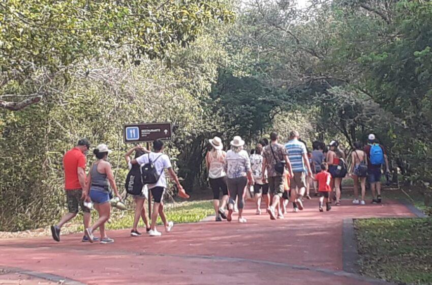 Cataratas recibió 9.578 visitantes este fin de semana