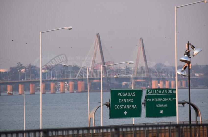 Aseguran que en tres días se habilitaría el puente Posadas-Encarnación