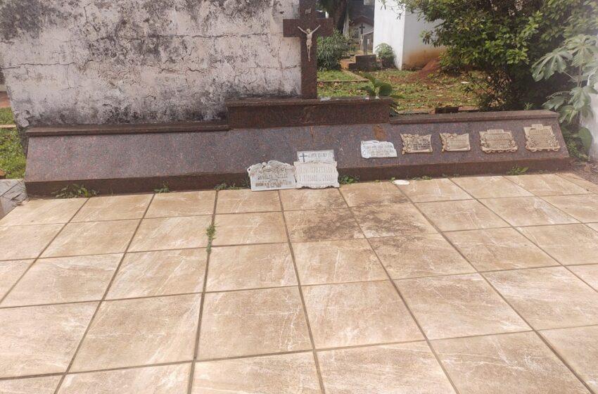 Investigan robos y vandalismo en el cementerio de Posadas